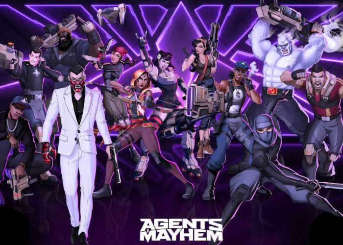 Agents of Mayhem Superheroes