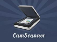 Camscanner escanear dispostivo